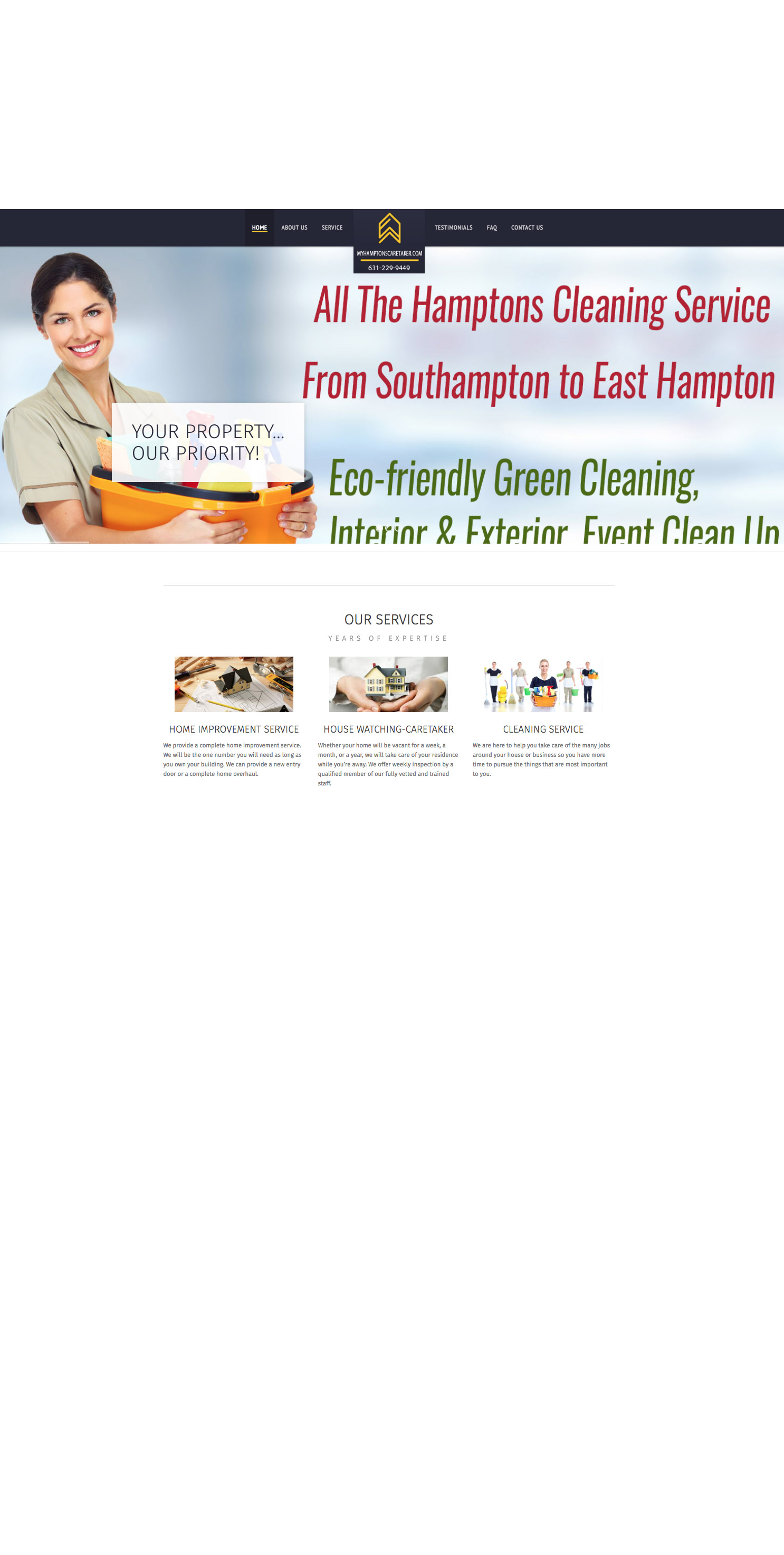 cleaning service hamptons